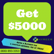 Refer a 50 kW system or larger for a 5000 dollar referral fee
