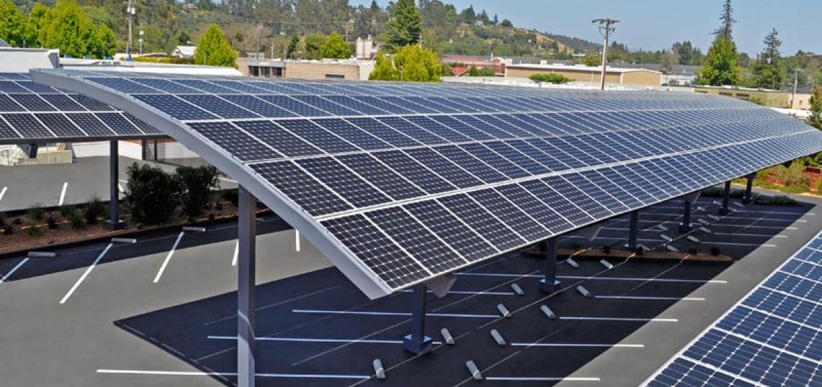 Solar Carport Nyreer New York Renewable Energy